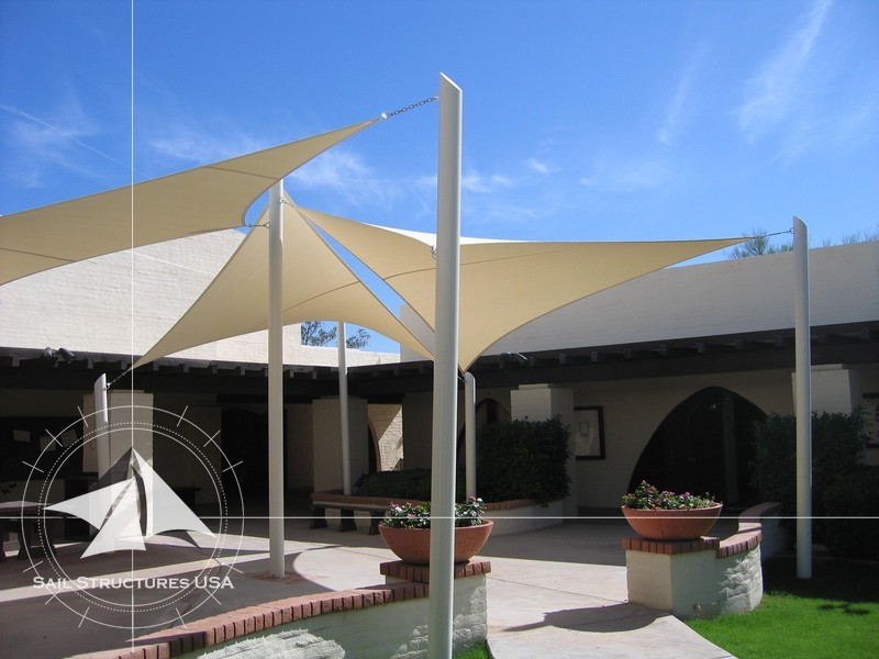 ... canopy shade church awning church sail shade & Photos of church sail shades awnings canopies